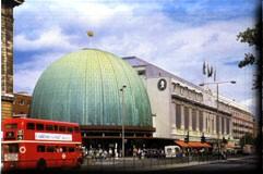 Вид на музей мадам тюссо и лондонский